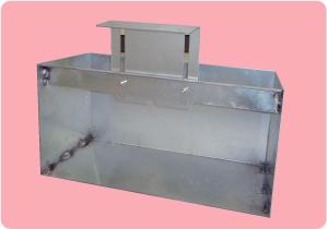 鋼製換気枠(天端抜き)