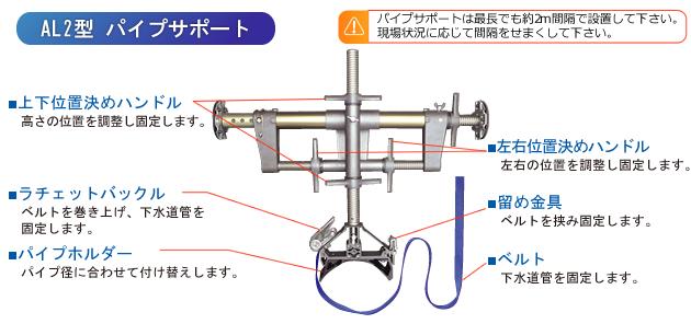 AL2型パイプサポート