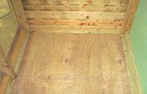 木製床タイプ