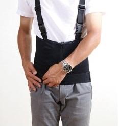 腰サポーター装着方法4