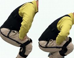 屈伸運動をサポート